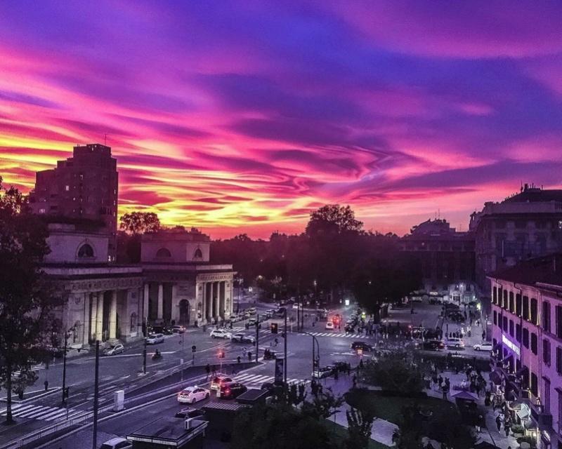 """Gallerie fotografiche : """"Finestra sul cielo""""  Sunset14"""