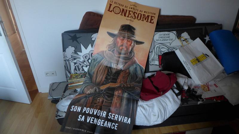 DUKE de Hermann et déco western LONESOME P1020117