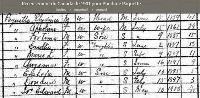 Exenephat Paquet et Hélène Latour 1901pa10