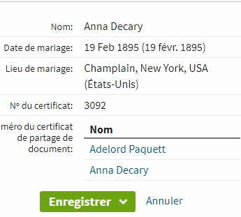 Adelard Paquette et Anna Decary Adelp10