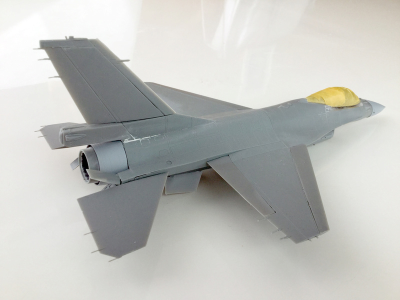 F-16 A 1/48 Kinetic 2017-152