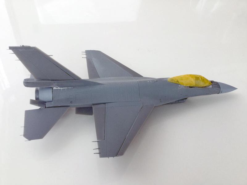 F-16 A 1/48 Kinetic 2017-158