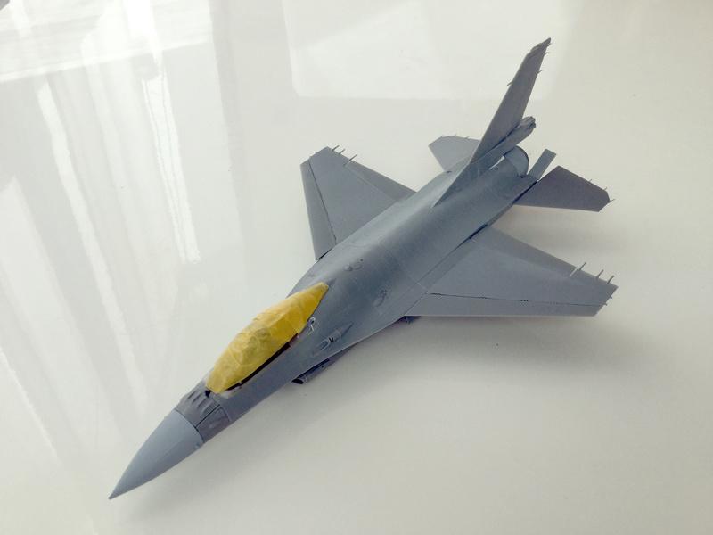 F-16 A 1/48 Kinetic 2017-159