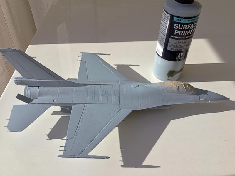 F-16 A 1/48 Kinetic 2017-167