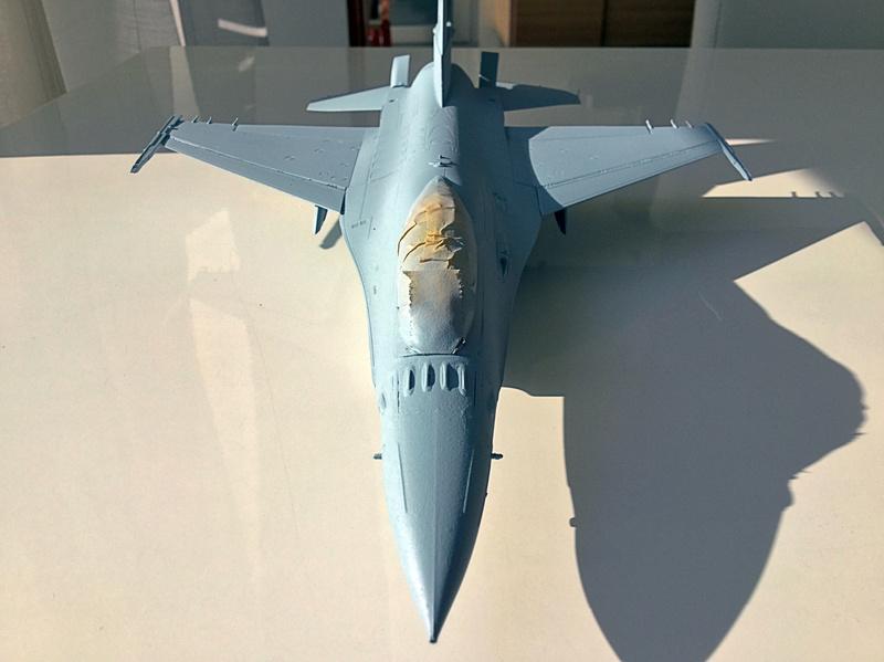 F-16 A 1/48 Kinetic 2017-168