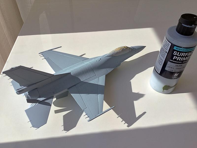 F-16 A 1/48 Kinetic 2017-169