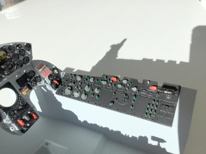 Cockpit F-104 ESCI 1/12 - Page 2 2018-072