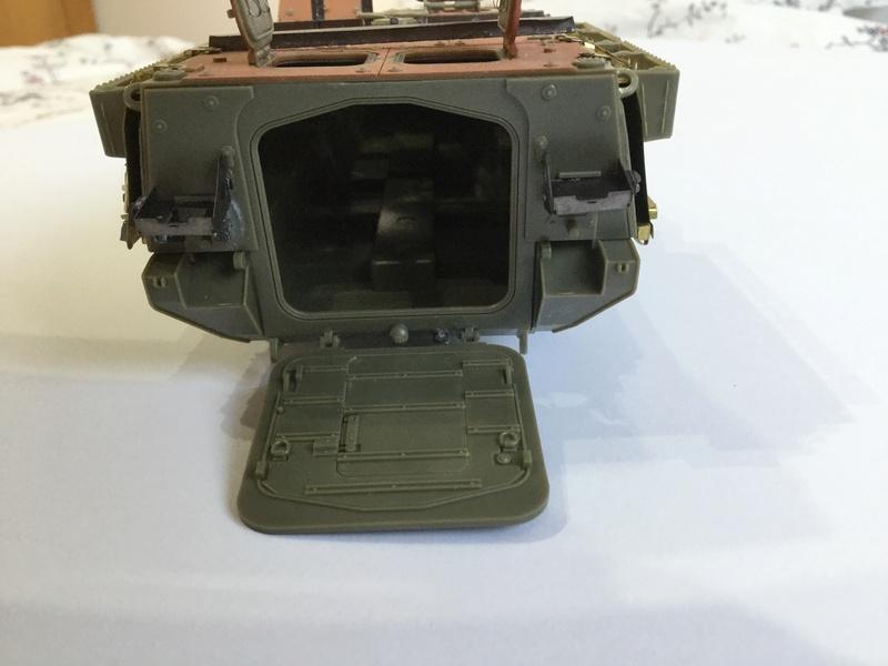 Dio Stryker M1132 Mine roller, M1132 Surface Mine trumpeter et M1126 AFV  1/35 - Page 9 2018-187