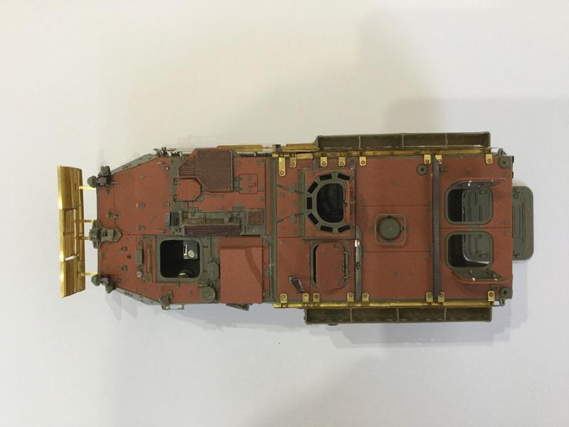 Dio Stryker M1132 Mine roller, M1132 Surface Mine trumpeter et M1126 AFV  1/35 - Page 9 2018-197
