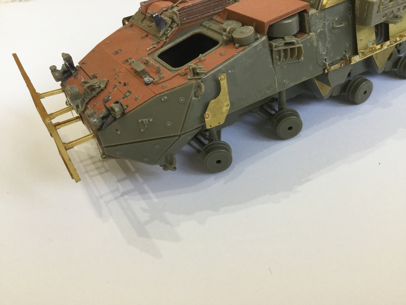 Dio Stryker M1132 Mine roller, M1132 Surface Mine trumpeter et M1126 AFV  1/35 - Page 9 2018-198