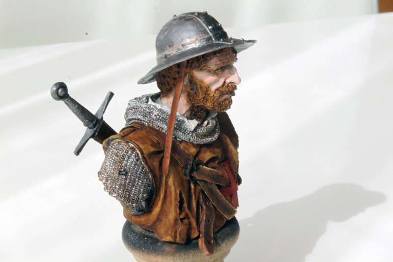 sergent des Templiers au XIIIème siècle 1/10  Img_2611