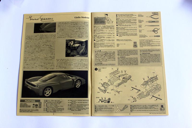 Ferrari Enzo Tamiya 1/24 Img_3246