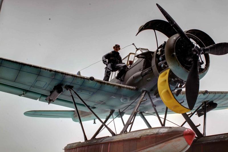 Arado Ar 196A-3 Seaplane - Revell - 1/32 - Page 10 Img_9020