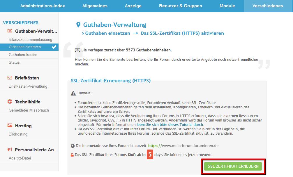 SSL-Zertifikat erneuern Ssl-er13