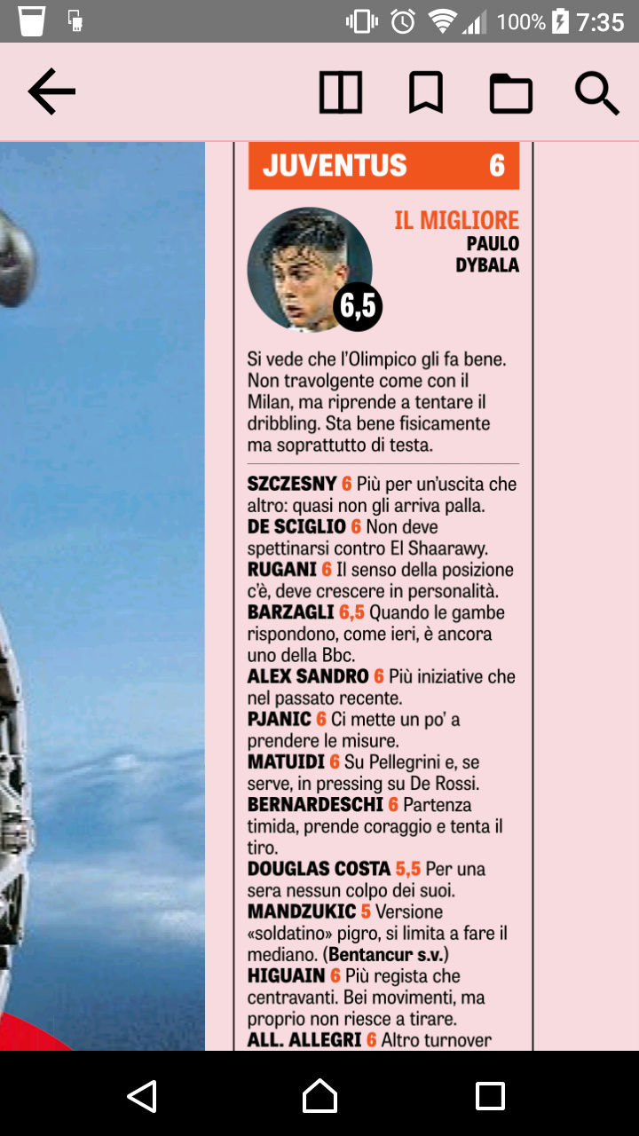 Roma - Juve, 2018.05.13, 20:45 Digi1 Screen12