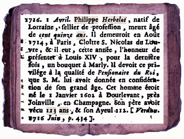 A- RECHERCHES SUR DE POSSIBLES CENTENAIRES DÉCÉDÉS - Page 4 Herbel10