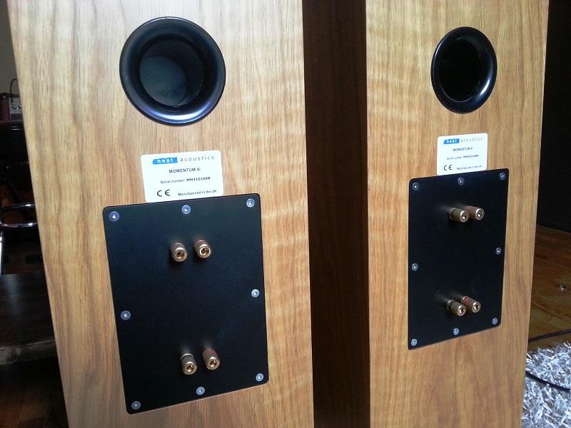 Neat Acoustics Momentum 4i speakers Neatm410