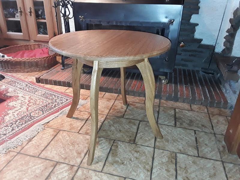 table basse en chêne 24176710