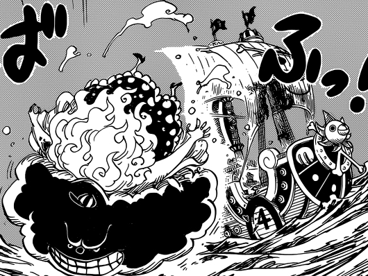 One Piece Kapitel 890: Big Mum auf dem Deck Bigm210