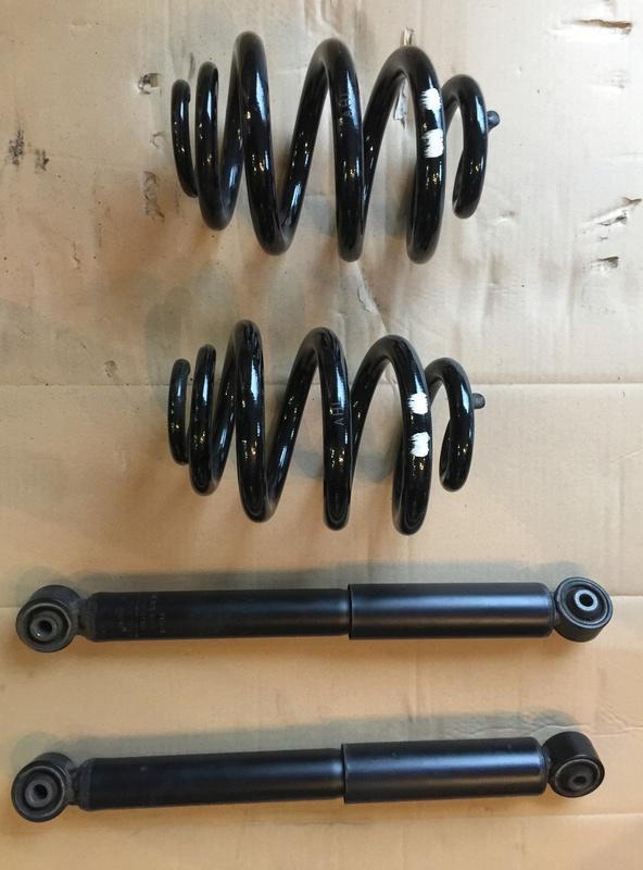 vend kit complet amortisseurs Avant/arriére T6/T5 4 Motion Img_1816