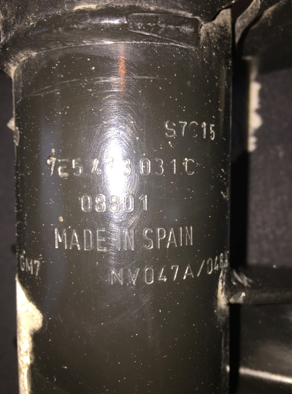 vend kit complet amortisseurs Avant/arriére T6/T5 4 Motion Img_1817