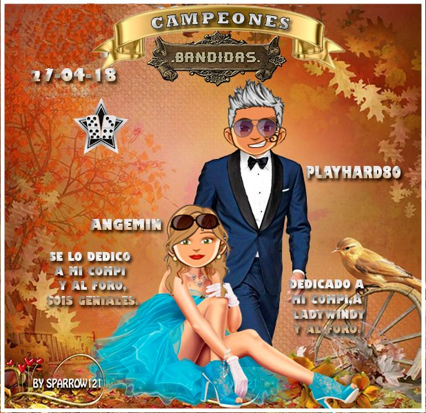 27/04/28 - CAMPEONES : GOGUITA1 Y PKLJH - SUBCAMPEONES: ANGEMIN Y PLAYHARD80 157krk10