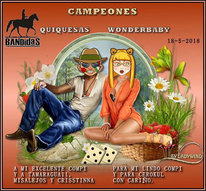 18/5/2017 CAMPEONES WONDERBABY Y QUIQUESAS - SUBCAMPEONES YOCHONCHI Y LUVINA64 18-5-c10