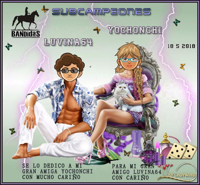 18/5/2017 CAMPEONES WONDERBABY Y QUIQUESAS - SUBCAMPEONES YOCHONCHI Y LUVINA64 18-5-s10