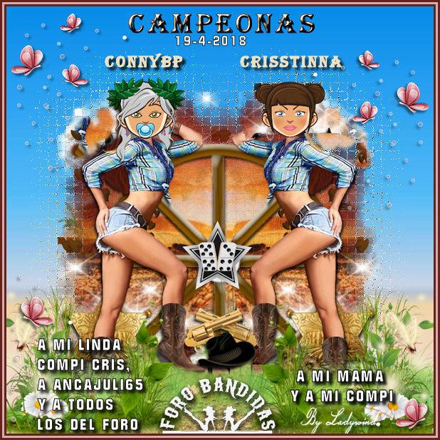 19/04/2018 CAMPEONAS CRISSTINNA Y CONNYBP - SUBCAMPEONES ANGEMIN Y DELGADOLM  19-4-c10