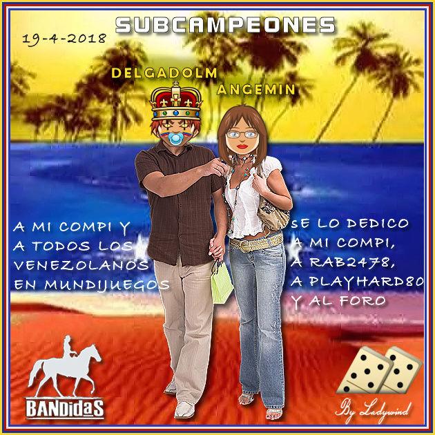 19/04/2018 CAMPEONAS CRISSTINNA Y CONNYBP - SUBCAMPEONES ANGEMIN Y DELGADOLM  19-4-s10