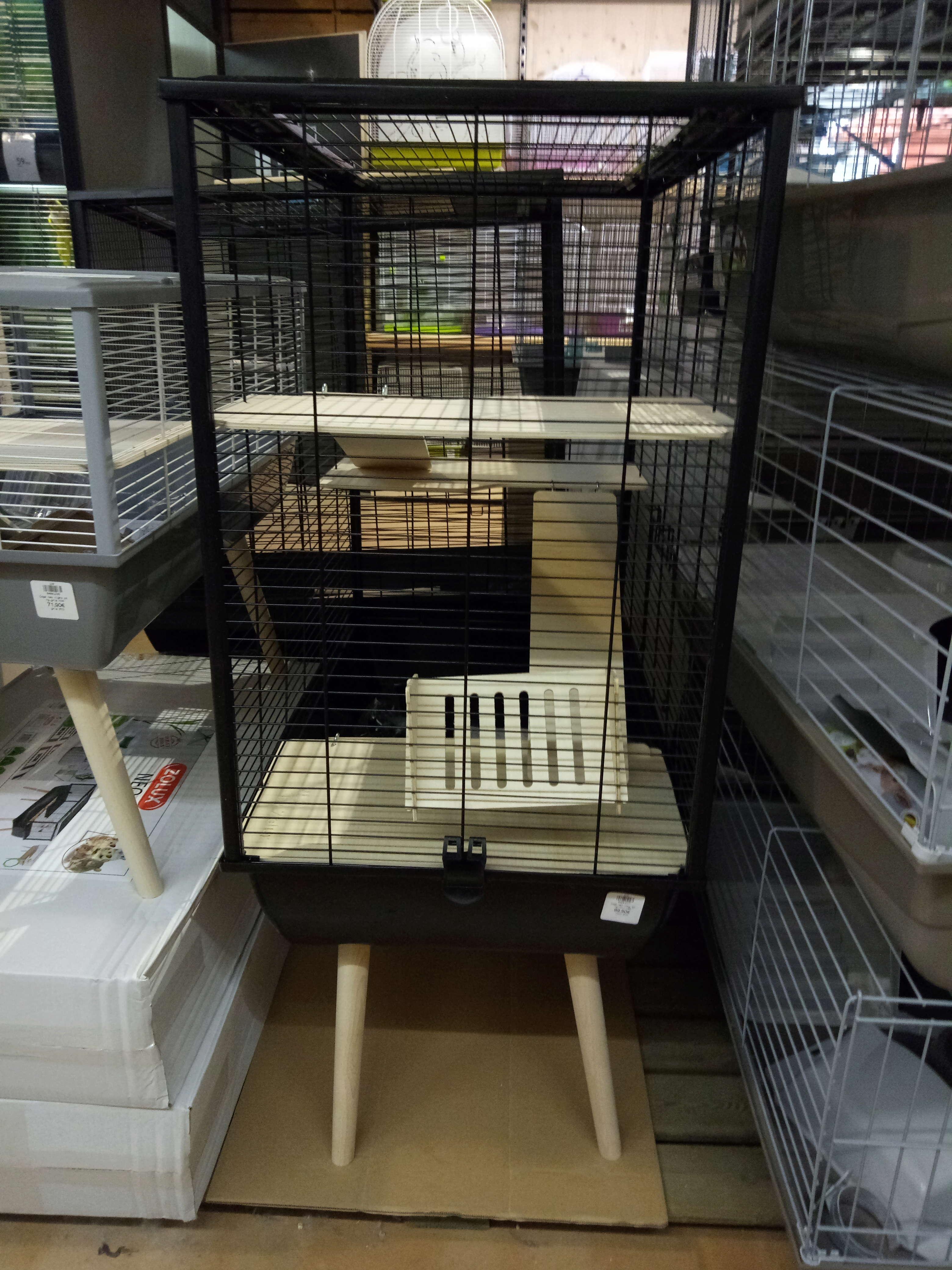 Aménager une cage lapin pour mes rats Ou Choix de cage  - Page 2 Img_2013