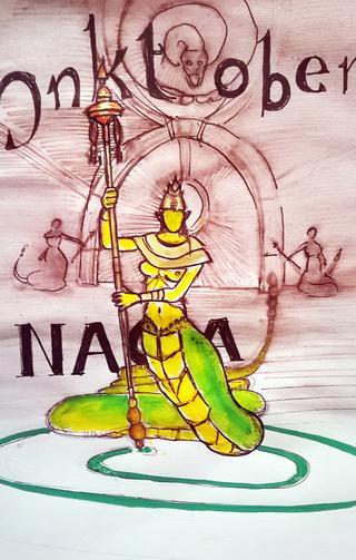 [nix] IMchallenge Chaussettes geek_nix Naga10
