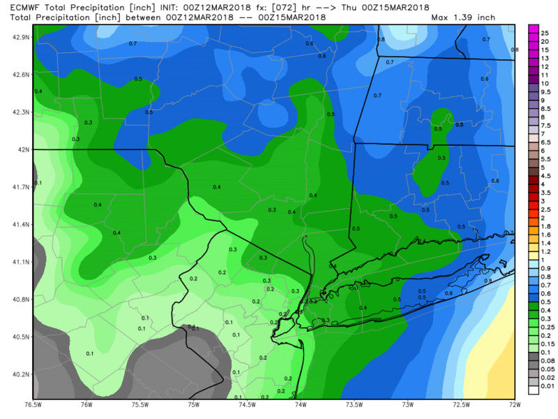 March 13th JUST Missed Nor'easter Observations - Page 4 Ecmwf115