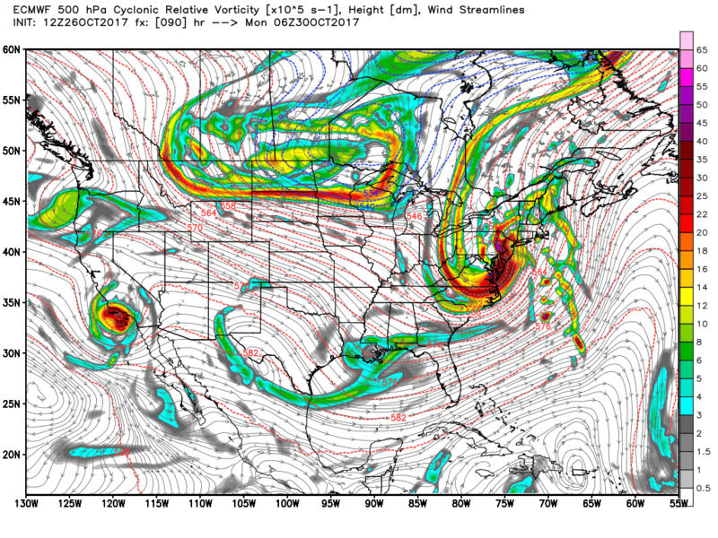 10/29 - 10/30 Nor'Easter Ecmwf_13