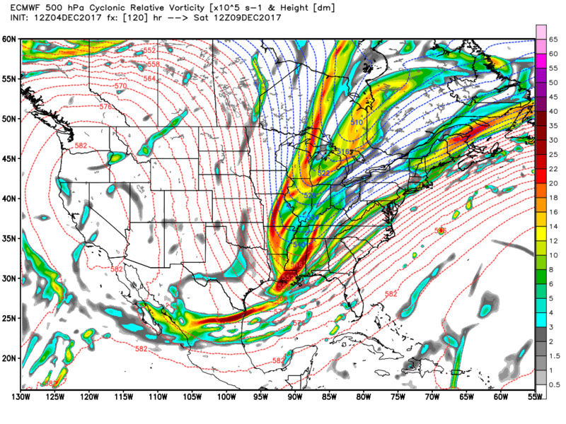 Possible Snowstorm December 8th-9th - Page 2 Ecmwf_16
