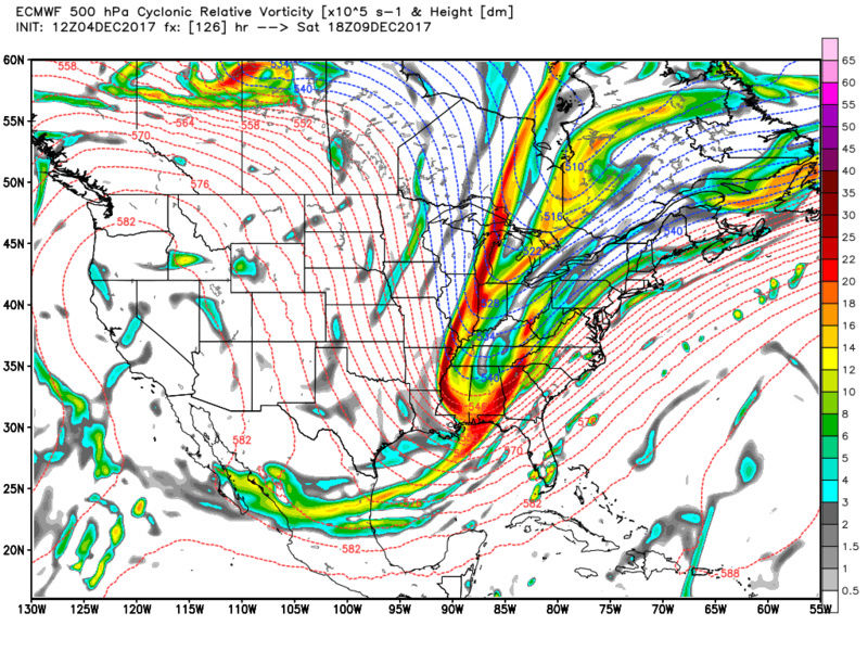Possible Snowstorm December 8th-9th - Page 2 Ecmwf_17