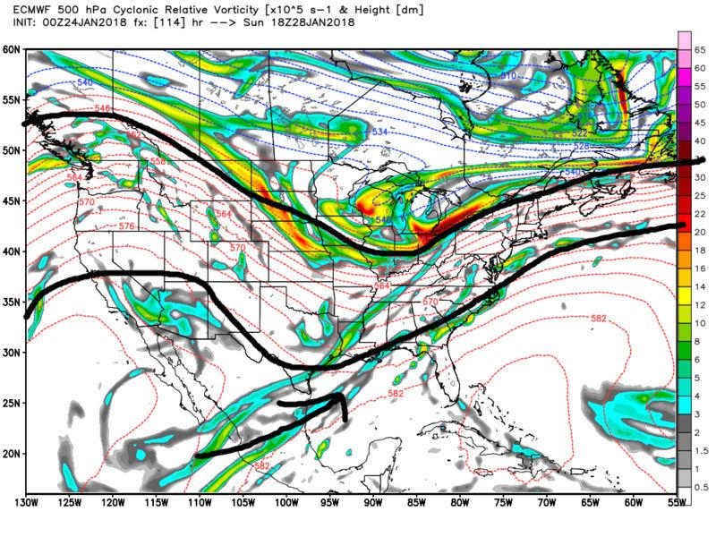 JAN 28th-30th 2018: Harmless Frontal Passage? Coastal? IVT? Ecmwf_53