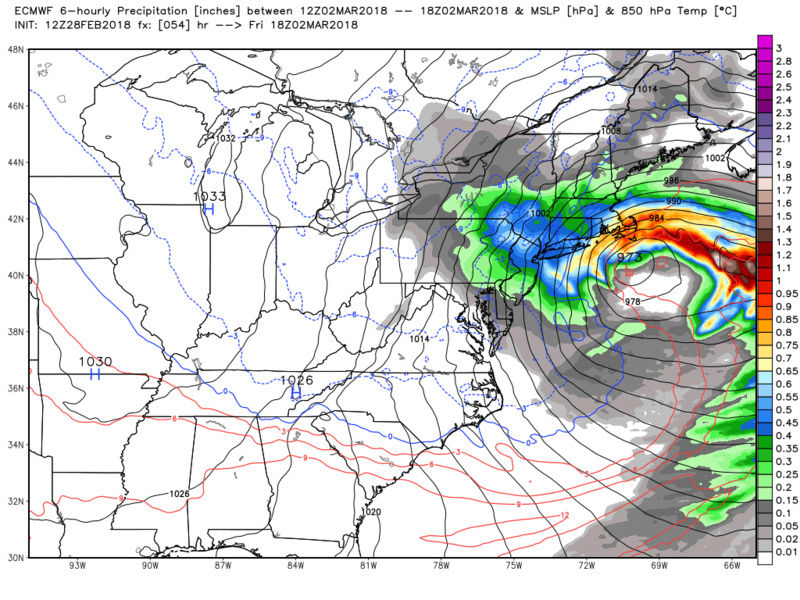 MARCH 2nd-3rd 2018 Complex set up - Page 15 Ecmwf_83