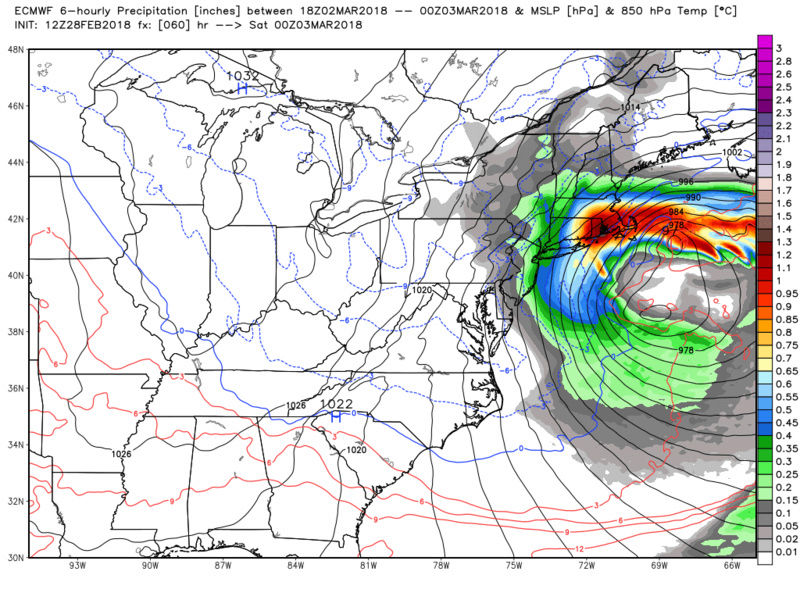 MARCH 2nd-3rd 2018 Complex set up - Page 15 Ecmwf_84