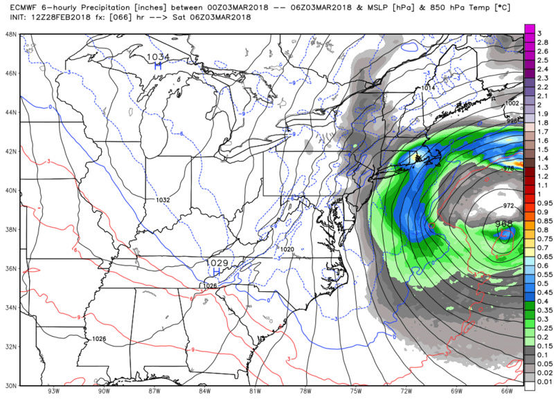 MARCH 2nd-3rd 2018 Complex set up - Page 15 Ecmwf_85