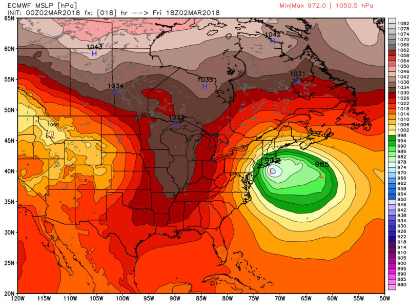 March 7th-8th 2018 Storm Potential Ecmwf_87