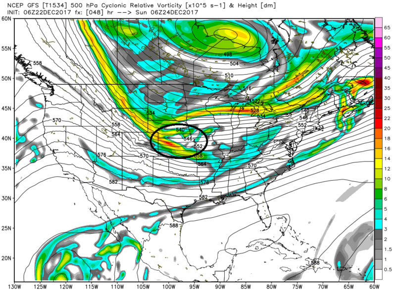 Possible Christmas Day Storm  - Page 3 Gfs_z516