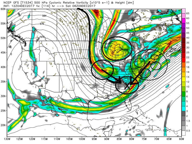 Possible Snowstorm December 8th-9th - Page 2 Gfsss10