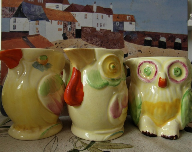 Parrot/duck milk jug by Keele St Pottery Co. Ltd., Made in England  Sam_9414