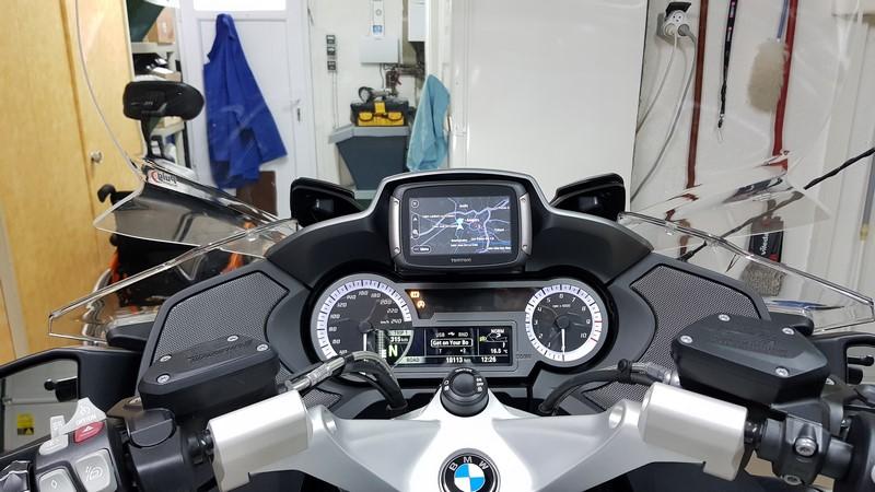 GPS TomTom Rider 42, 420 et 450 20171112