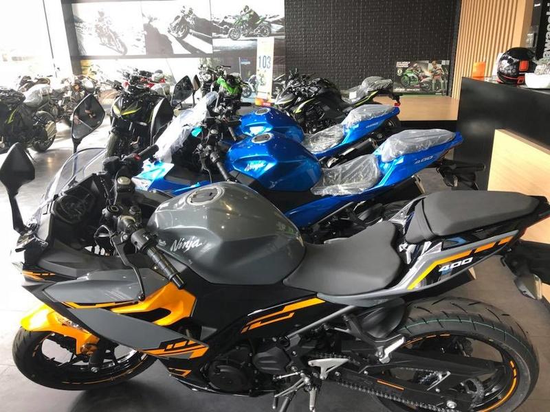 La Ninja 400 en photos 27540510