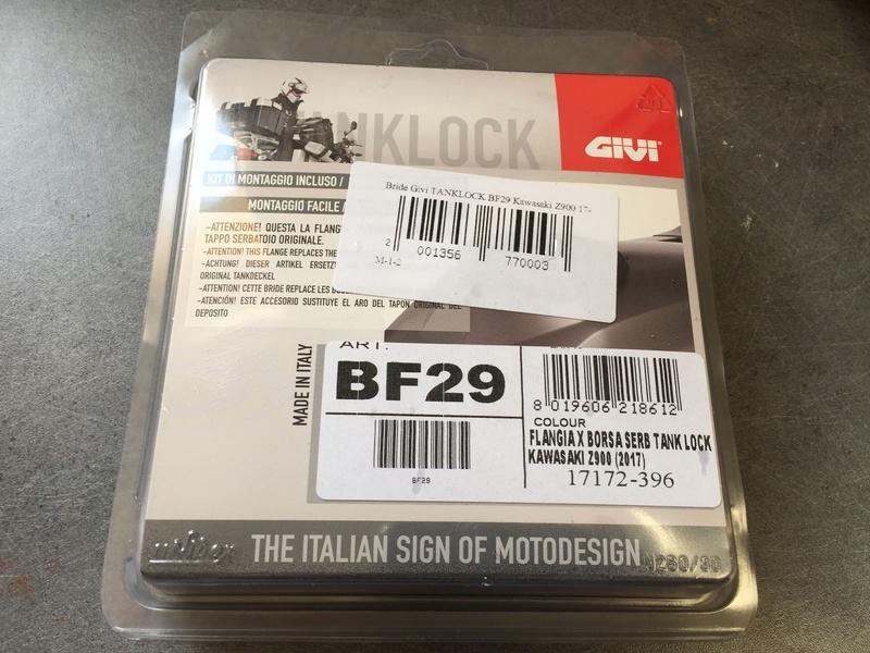 Montage Bride Givi BF29 pour sacoche de réservoir TankLock 6f7c2a10