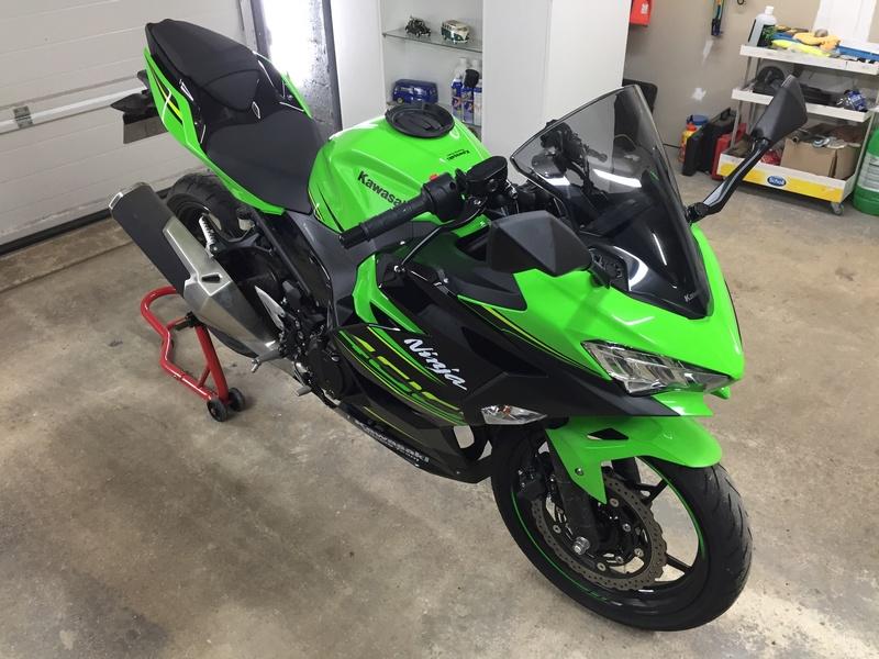 Bulle haute Kawasaki 8f32a110