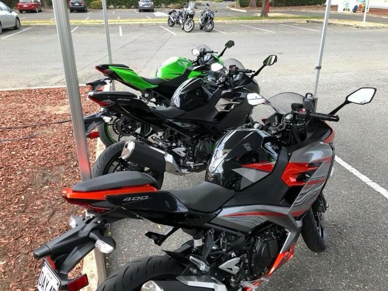 La Ninja 400 en photos 918f5510