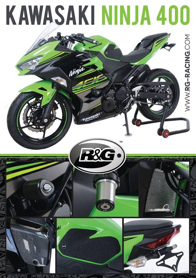 R&G gamme pour Ninja 400 C7937310
